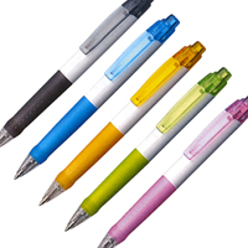 白軸ビズノ ボールペンの画像