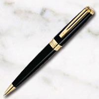 ウォーターマン エクセプション・スリム ブラックラッカーGT ボールペンの画像