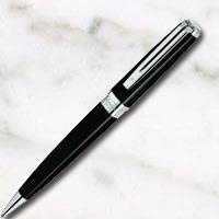 ウォーターマン エクセプション・スリム ブラックラッカーST ボールペンの画像