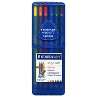 エルゴソフト ジャンボ色鉛筆 6色セットの画像