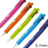 クリップ‐オンマルチF 4色ボールペン+シャープ 0.7mmの画像