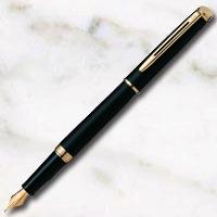 ウォーターマン メトロポリタン エッセンシャル マットブラックGT 万年筆の画像