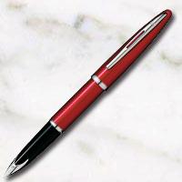 ウォーターマン カレン グロッシー・レッドST 万年筆 18金ペン先の画像