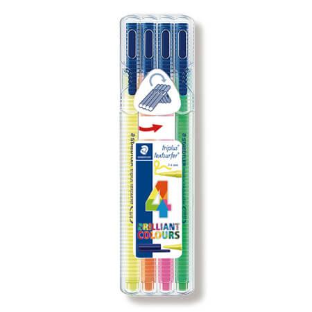 トリプラス テキストサーファーゲル 蛍光ペン 4色セットの画像