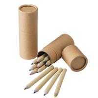 12色ペーパーカラーペンシルの画像