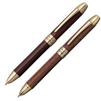 ボールペン+シャープ DOUBLE ACTION R3 木軸の画像