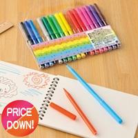水性ペン18色セットの画像