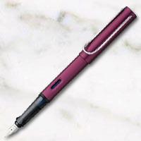 ラミー アルスター 万年筆 スチールペン先 ディープパープルの画像