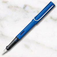 ラミー アルスター 万年筆 スチールペン先 オーシャンブルーの画像