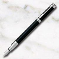 ウォーターマン パースペクティブ ブラックCT 万年筆 ステンレスペン先の画像