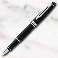 ウォーターマン エキスパート エッセンシャル マットブラックCT万年筆の画像
