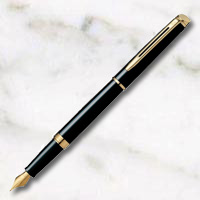 ウォーターマン メトロポリタン エッセンシャル ブラックGT 万年筆の画像