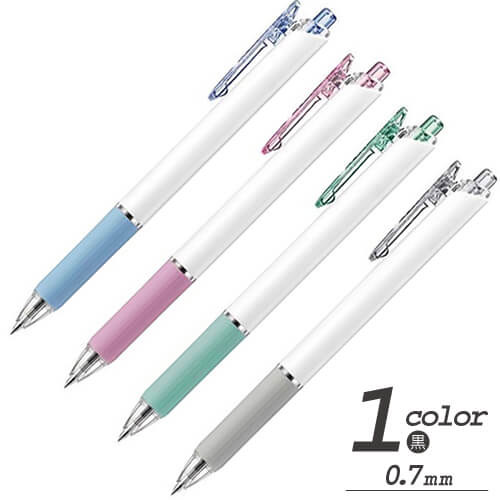 フィール 油性ボールペン ワイドオープン  0.7mm 白軸の画像