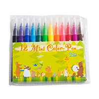 12色ミニカラーペンの画像