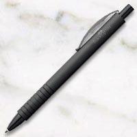 ファーバーカステル エッセンシオ アルミニウム ブラック ボールペンの画像