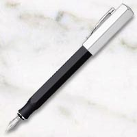 ファーバーカステル オンドロ グラファイトブラック 万年筆の画像