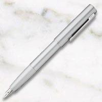ラミー アイオン オリーブシルバー 万年筆の画像