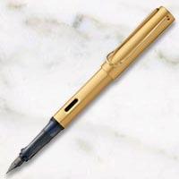 ラミー ルクス ゴールド 万年筆の画像